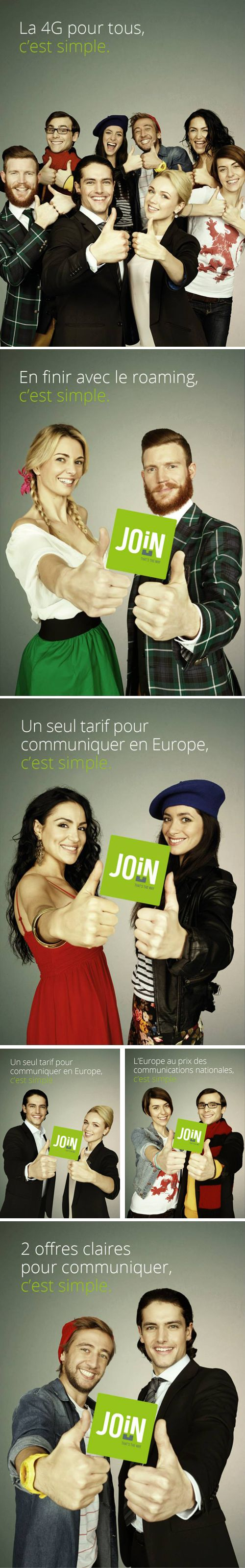 Annonceur : Join Experience Campagne : campagne de lancement / Presse Agence : Vous Publication : janvier 2014