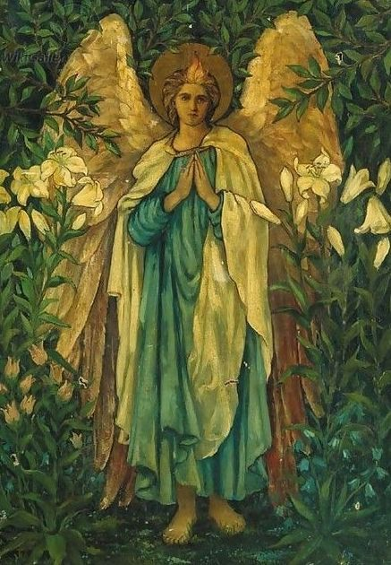 Burne-Jones Archangel Gabriel