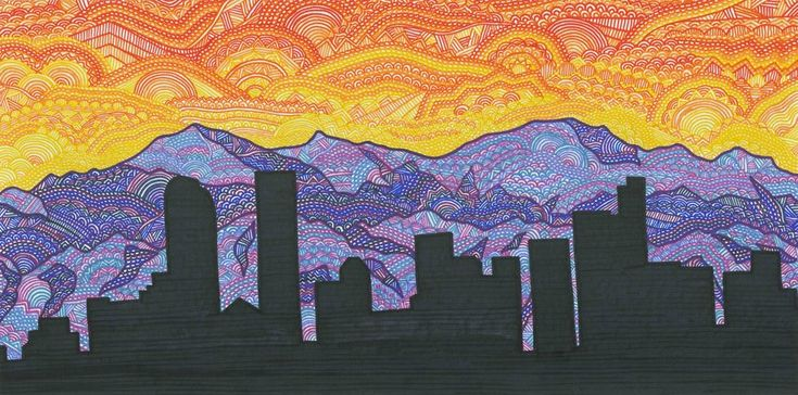 Denver Skyline by ~dylanmark on deviantART