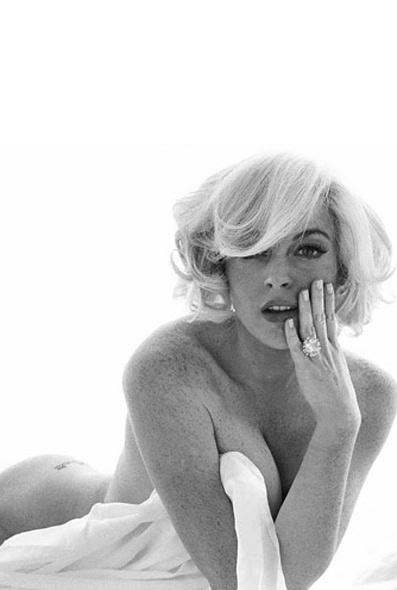Lohan monroe nude Nude Photos 65