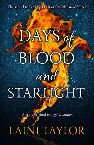 Days of Blood and Starlight by Laini Taylor | http://www.goodreads.com/book/show/13389182-days-of-blood-and-starlight