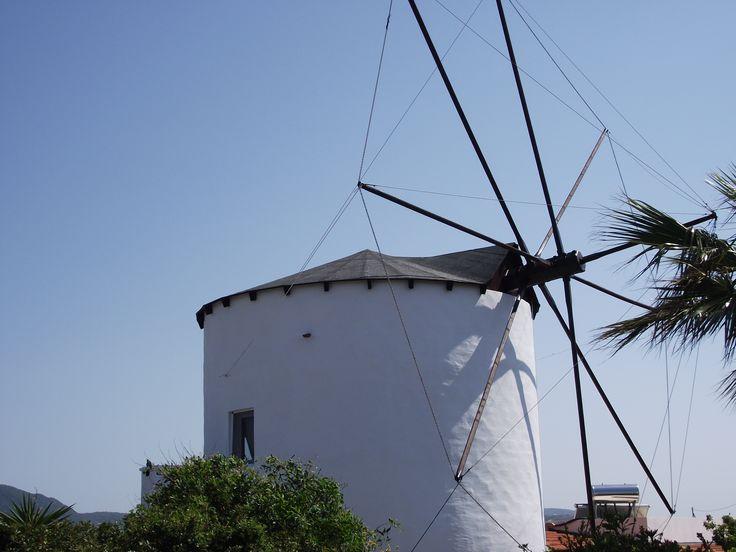 Old windmill, Kos, Greece