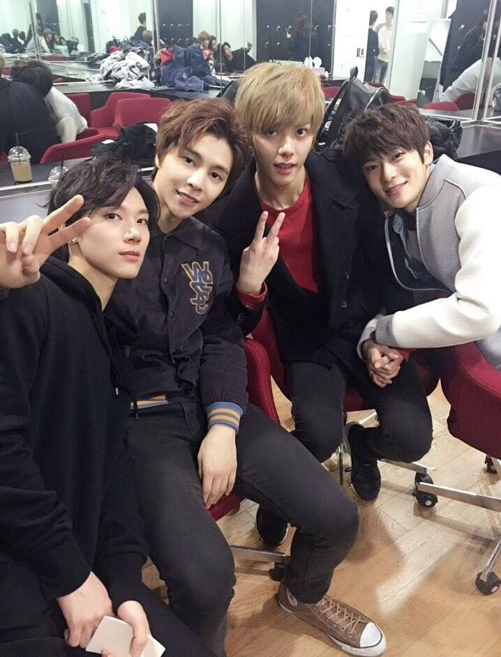 Ten, Johnny, Hansol and Jaehyun #SMROOKIES