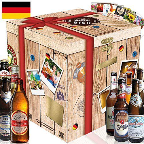 """""""Die BESTEN BIERE DEUTSCHLANDS"""" entdecken Inkl. gratis Geschenkkarten! Z.B. Schlappeseppel + Tegernseer Helles + Bayerische Staatsbrauerei Weihenstephan Pils + Berliner Pilsener Kindl-Schultheiss + Kölsch Privat-Brauerei Reissdorf + Brauerei Eller Pils + Einsiedler Brauhaus Landbier klassisch + Haller Löwenbräu Meistergold + Rother Bräu Pils. Ein tolles Geschenk für Männer. Bierset + Geschenk, Biersorten aus ganz Deutschland.: Amazon.de: Lebensmittel & Getränke"""