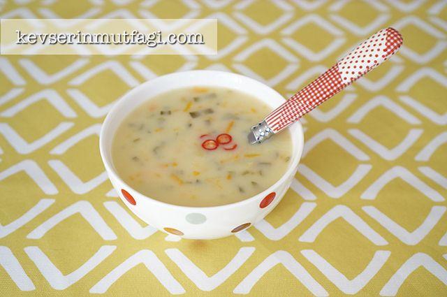 Pazı Sapı Çorbası Tarifi - Kevser'in Mutfağı - Yemek Tarifleri