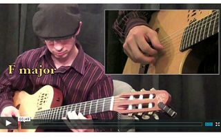 How To Play Major Arpeggios #playguitar