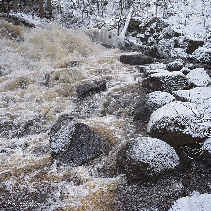 Rocks in the rapids