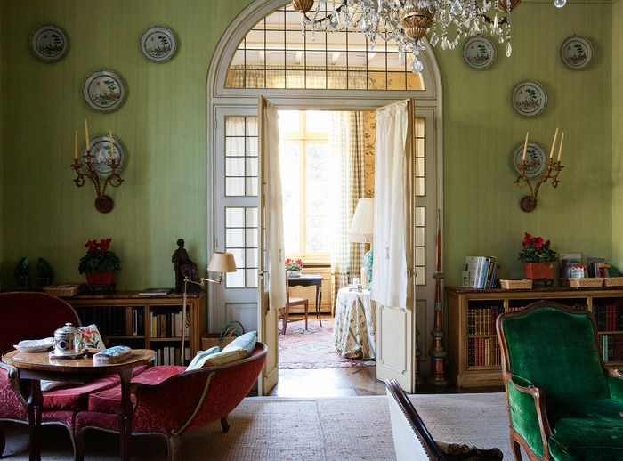 Marella Agnelli - Interior Design - How To Spend It