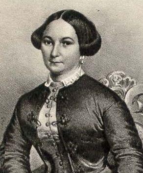 Fanny Salvini Donatelli, the first Violetta Valery. 1853