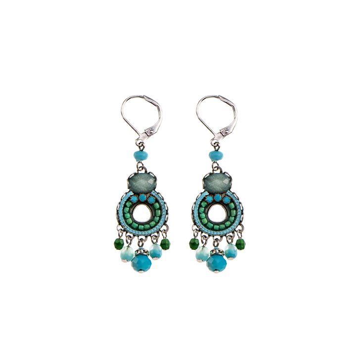 Garden Meditation Flower Earrings Ayala Bar Classic Collection – Summer 2016