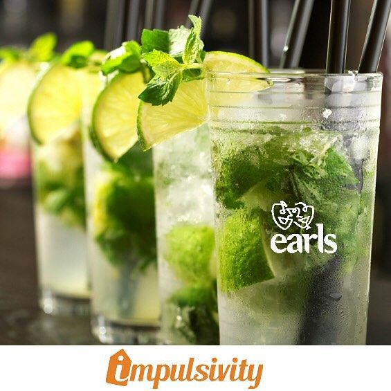$7 Mojitos (2oz) on Fridays at @EarlsKingSt!  Find this deal and many others on your #ImpulsivityApp.  Download it for FREE at the AppStore & Google Play.  #Toronto #ImpulsivityDeal