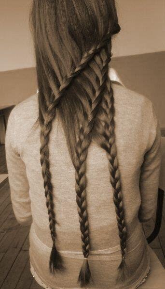 triple-layered braids