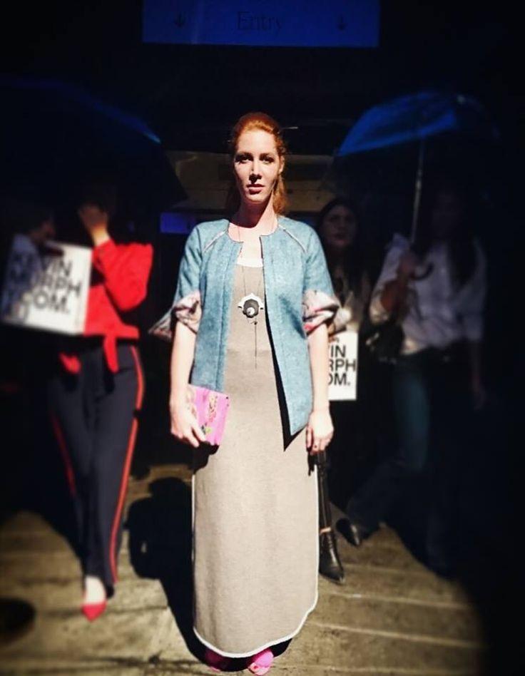 jacket, dress, purse/ La Femme mimi Shoes/ Mohito
