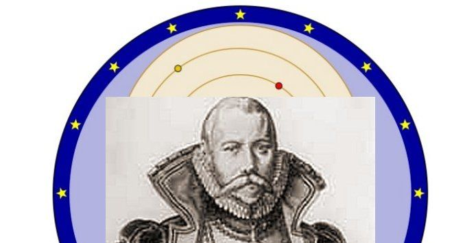 """On February 13, 1578, Tycho Brahe first sketches of """"Tychonic system"""", a modified geocentric model in ordertoexplain the motions of bodies in the Solar System. Tycho Brahe (1546 -1601) was Danish astronomer, whose work in developing astronomical instruments, measuring and fixing the positions of stars contributed much to future astronomical discoveries. Tychonic astronomical system contains parts of the Ptolemaic and Copernican systems. In this system, the Earth was stationary,..."""