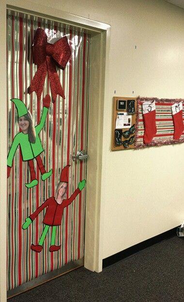 33 best Door Decoration images on Pinterest | Christmas ...