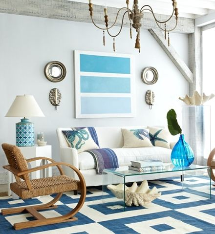 best ideas about Nautical living rooms on Pinterest
