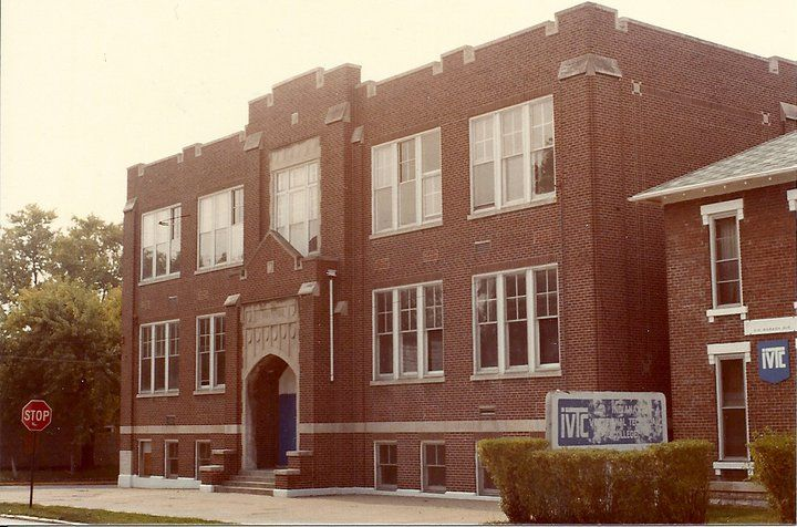 The former St. Ann's School building - an early home of Ivy Tech in Lafayette. Was this Ivy Tech's first location here?