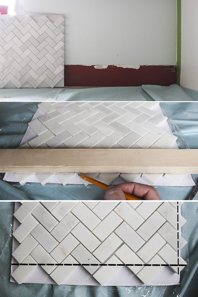 Pin By Kerri Wallom On Diy Diy Backsplash Kitchen Tiles