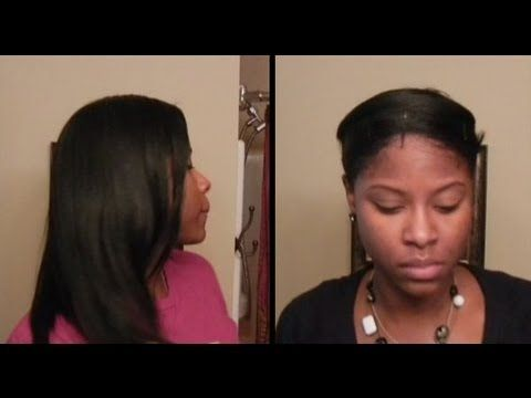 How To Wrap Hair (Pressed Natural Hair)