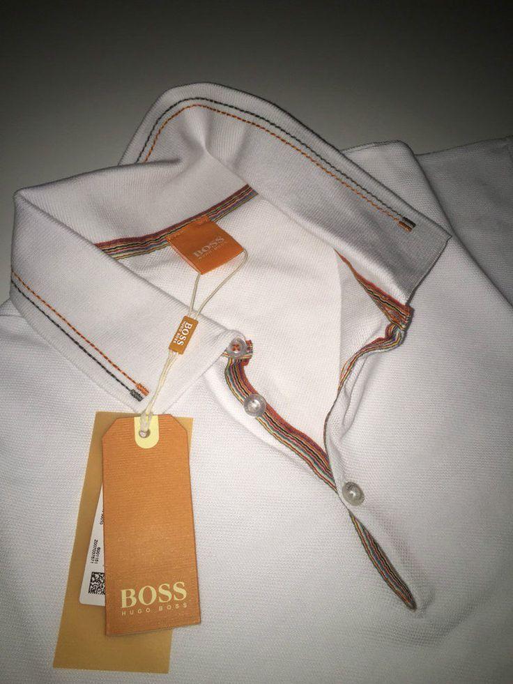 NEW Hugo Boss Orange Short Sleeved T-Shirt -White- Size S