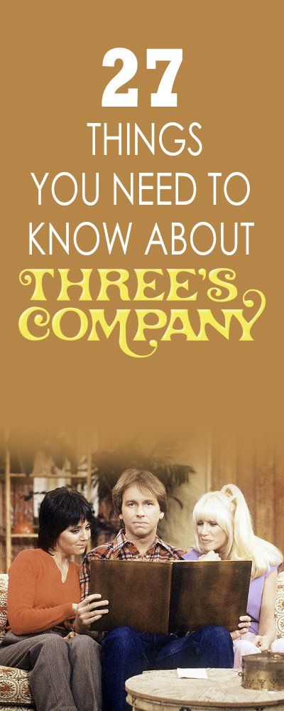 27 Things You Need to Know About 'Three's Company'