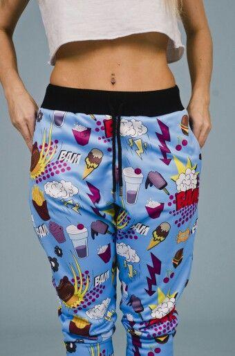 Pantalon LIGHT POP Prenda unisex Moda para estar en tu casa www.vanhoston.com