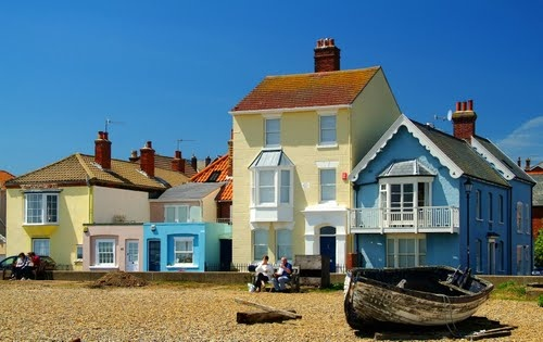 Aldeburgh from the beach