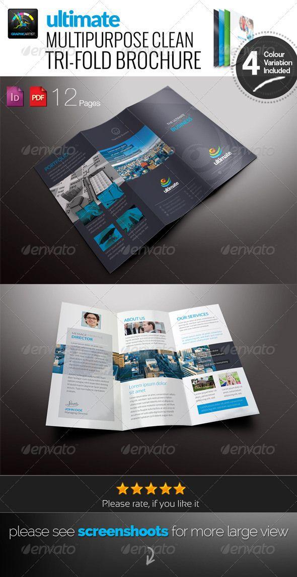 Best MockUps Images On   Free Brochure Brochure