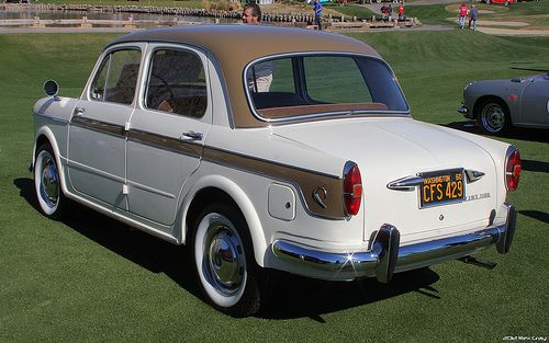 1960 Fiat 1100 Lusso - rvl