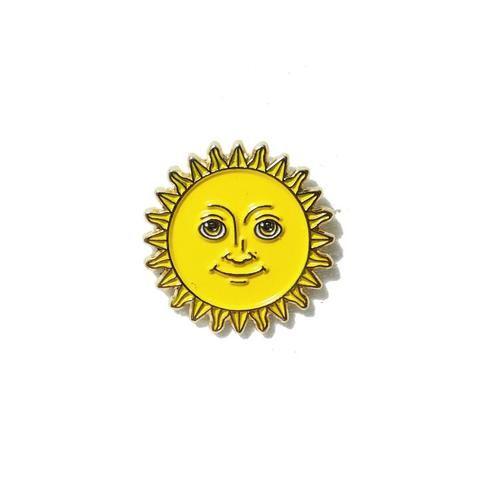 'Sun Emoji' Pin