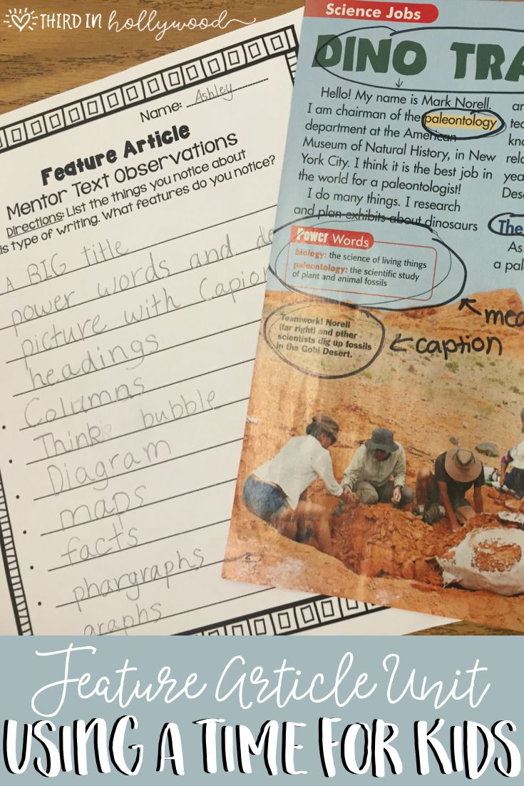 Feature Articles- Literacy- Writing and Reading Using TFK