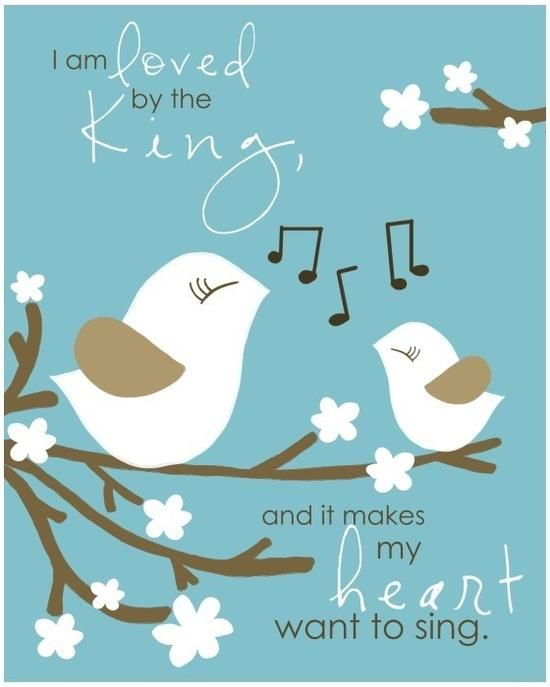 loved and it makes me wanna sing...visit https://www.facebook.com/ADailyWalkWithYou for more inspirations