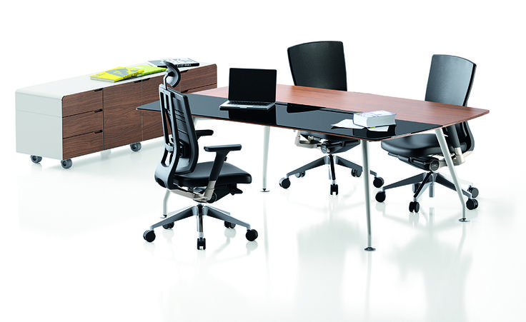 Duozone meeting table