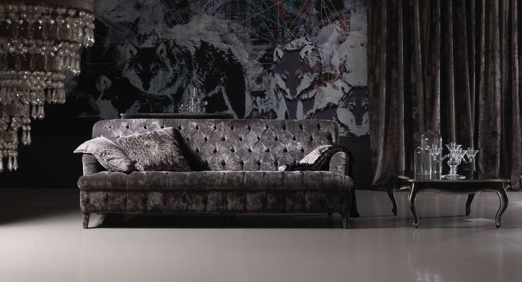 Italian designer sofa sets and furniture for the living room. Top grain leather sofas and hand stitched details.