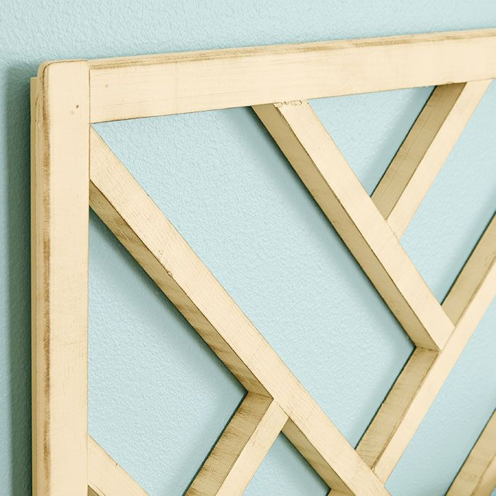 Chippendale Headboard Layout Diy From Lowe S For The