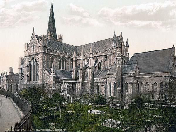 St. Patricks Cathedral. Dublin. County Dublin, Ireland