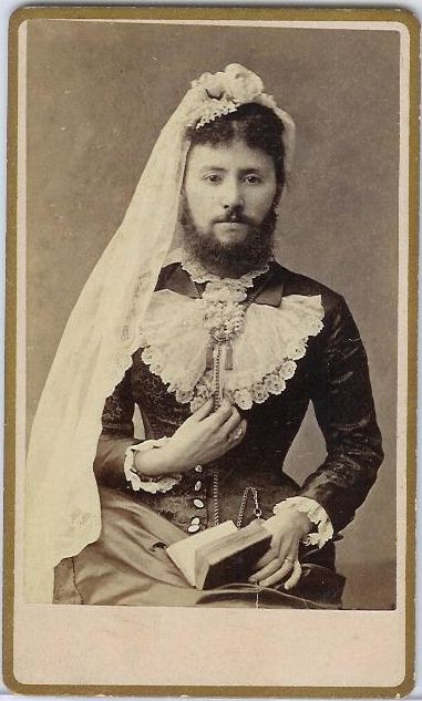 Bearded Lady...pretty sure it's just a dude ;)