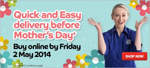 Get in quick for Mother's Day delivery!