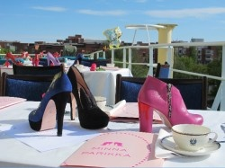 Minna Parikka shoes summer party on an icebraker 2012