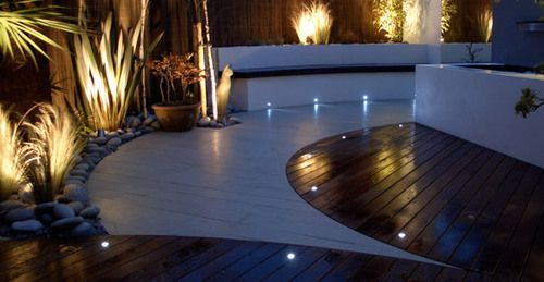 Garden Lighting for interior exterior home decoration and landscaping design.