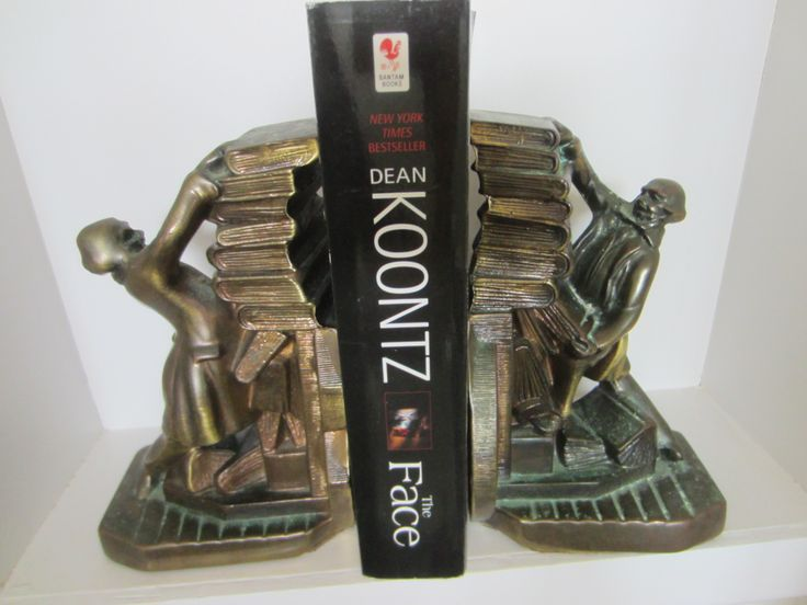 PM Craftsman Bronze Bookends