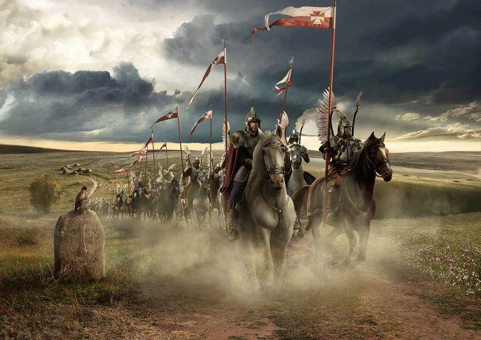 De stora vida slätterna i Märehns kustland har gjort kavalleri till den dominerade truppslaget