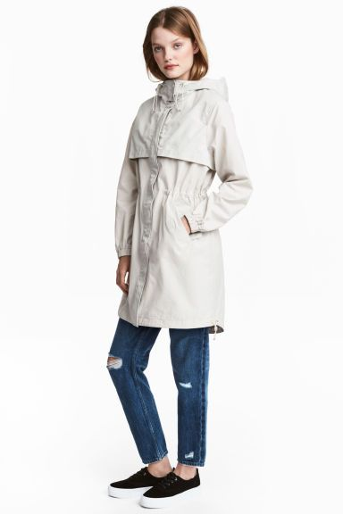Trench-coat oversize - TaupeAsos Tall bukaLEJS