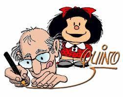 """Quino es el autor de la tira cómica """"Mafalda"""". Es el seudónimo para su nombre real - Joaquín Salvador Lavado."""