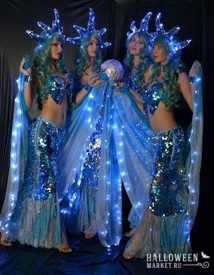 #mermaid #costume #halloweenmarket #halloween  #костюм #морскаятема #образ #русалка Красивый костюм, платье русалки на хэллоуин (фото)