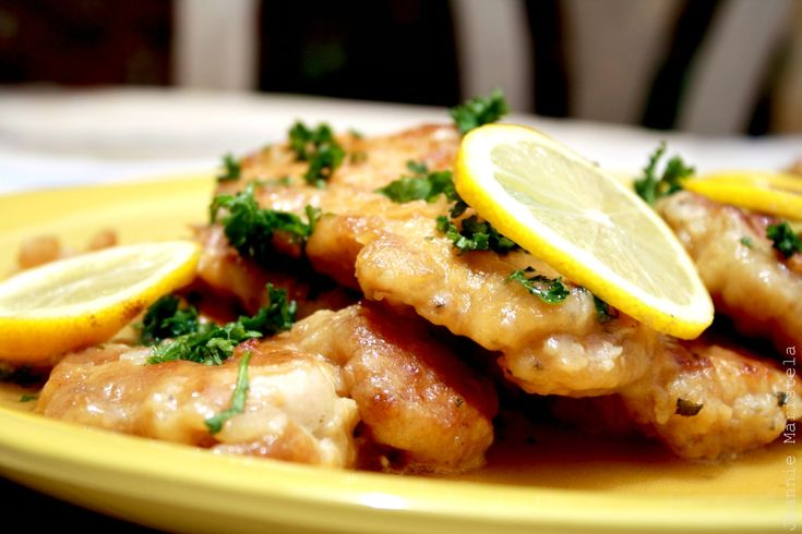17 Best Images About Italian Recipes On Pinterest Chicken Piccata Homemade Pasta Dough And