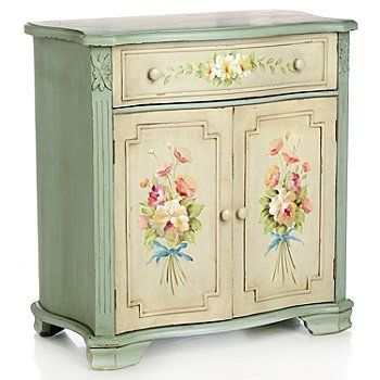 "Style at Home with Margie 29.5"" Hand-Painted English"