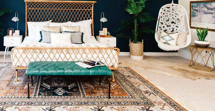 Красивый дизайн спальни от Jessica McCarthy фото 08