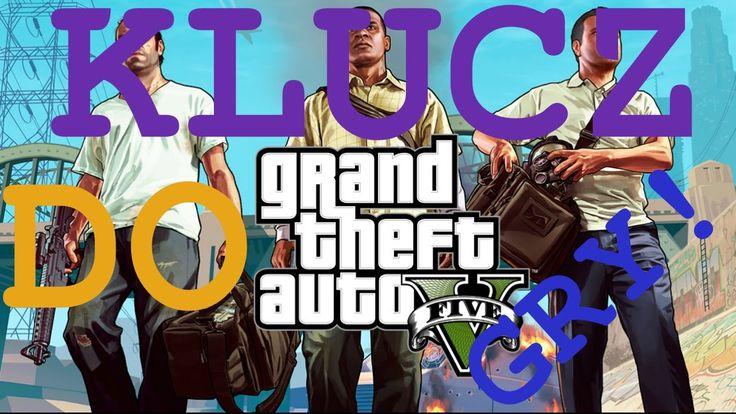 https://www.youtube.com/watch?v=B0_W1jbJUUI   Oryginalny klucz do gry GTA 5 znajdziesz tylko na tej stronie! Już dziś możesz aktywować i grać w tą grę! Polecam bardzo serdecznie, ponieważ jest to jedyna taka okazja!