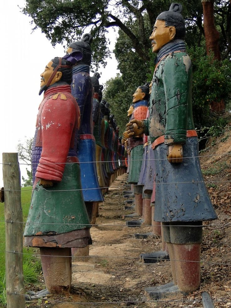 Soldados de terracota <br />Bacalhôa Buddha Eden